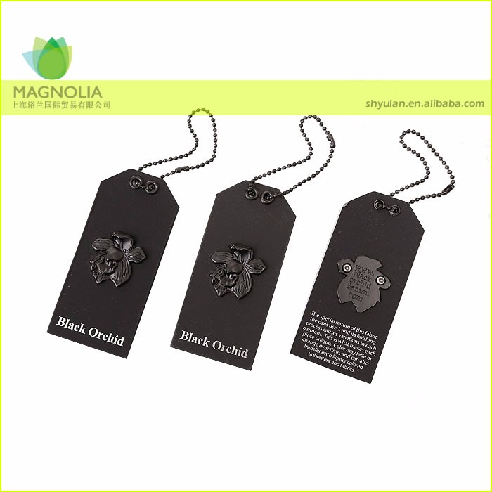 Garment,Shoes,Bags Use and Garment Tags Product Type hang tag /Metal flower hang tags