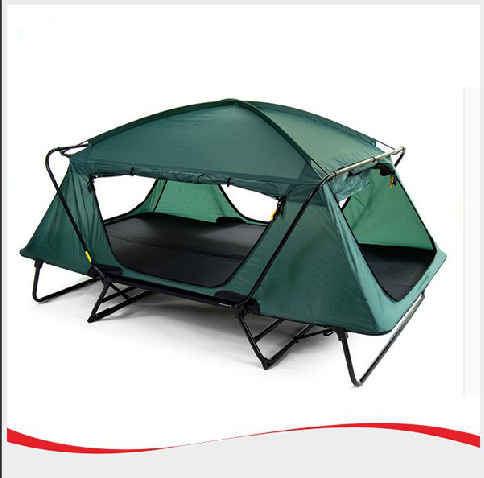 2017 0utdoor camping folding queen size bed tent