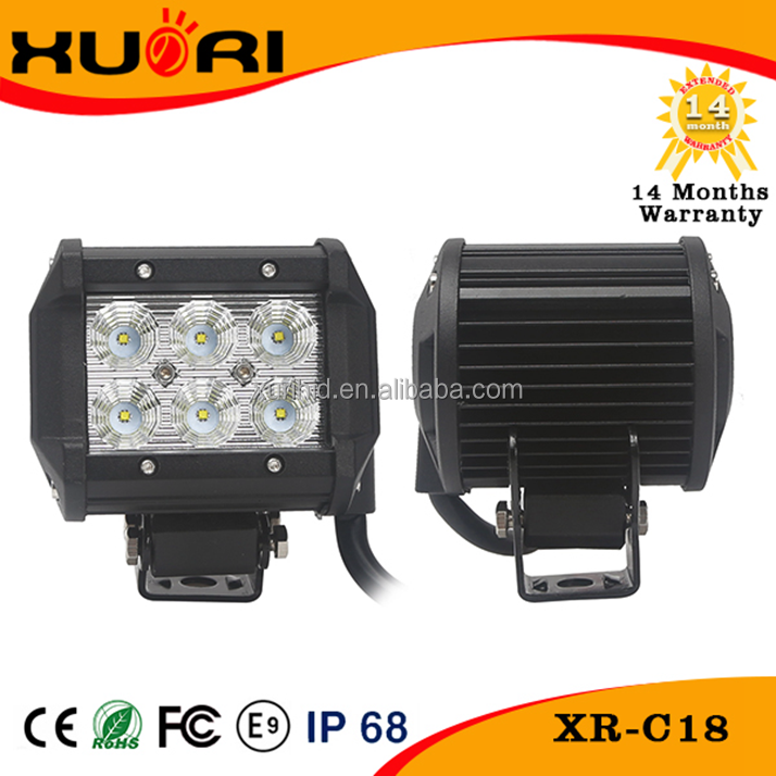 18w Led Light Bar Car Roof Top Light Bar 4x4 off road accessories led driving light for trucks , jeep