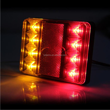 12V LED TAIL STOP BRAKE LIGHTS BOAT TRAILER CARAVAN BAR LAMP