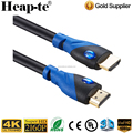 High Speed hdmi cables 5ft blue color Support Ethernet ,ARC,3D,4K CL3 function 24k golden plated connector - HD[Latest Version]