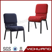 Wholesale heavy duty stacking interlocking church chair