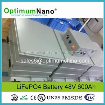 48V 1000AH Lithium Battery for Solar Energy