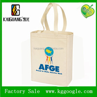 2015 spring large custon logo 100% gots organic cotton shopping tote road bag