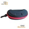 Soft zipper EVA sunglass case cheap brand designer sunglass case/eyeglasses case/optical case