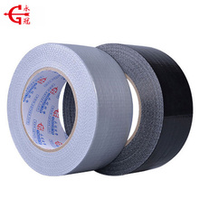 Factory reinforced Polyethylene adhesive cloth duct tape with Ruber adhesive