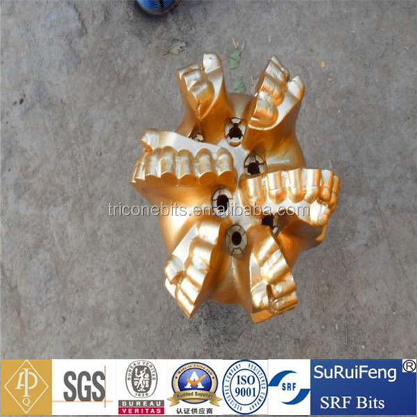 8 inch pdc 6 blades oil rig drill bit ,drilling for groundwater,oil and gas drilling equipment