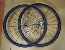 3k matte weave 38mm clincher carbon road bike wheelset with straight pull R36 hubs blade pillar spokes