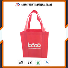 Guangyue Reusable Non Woven Tote Shopping Bag With Customized Logo Printing