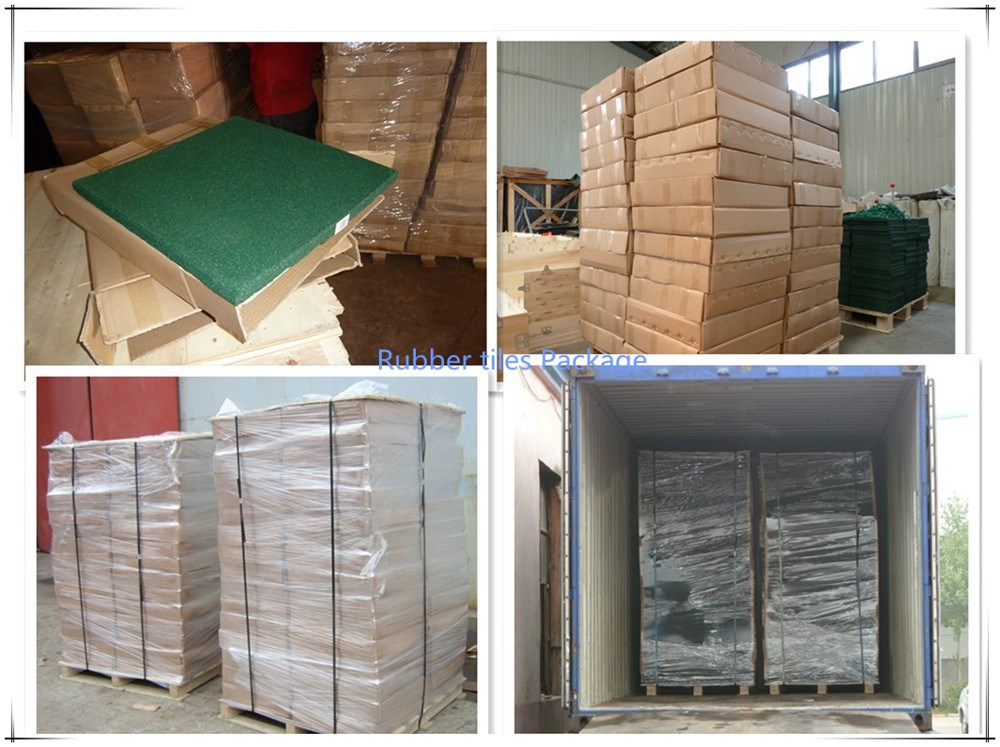 RUBBER TILES PACKAGE