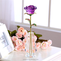 Nice K9 Engraved Crystal Glass Rose