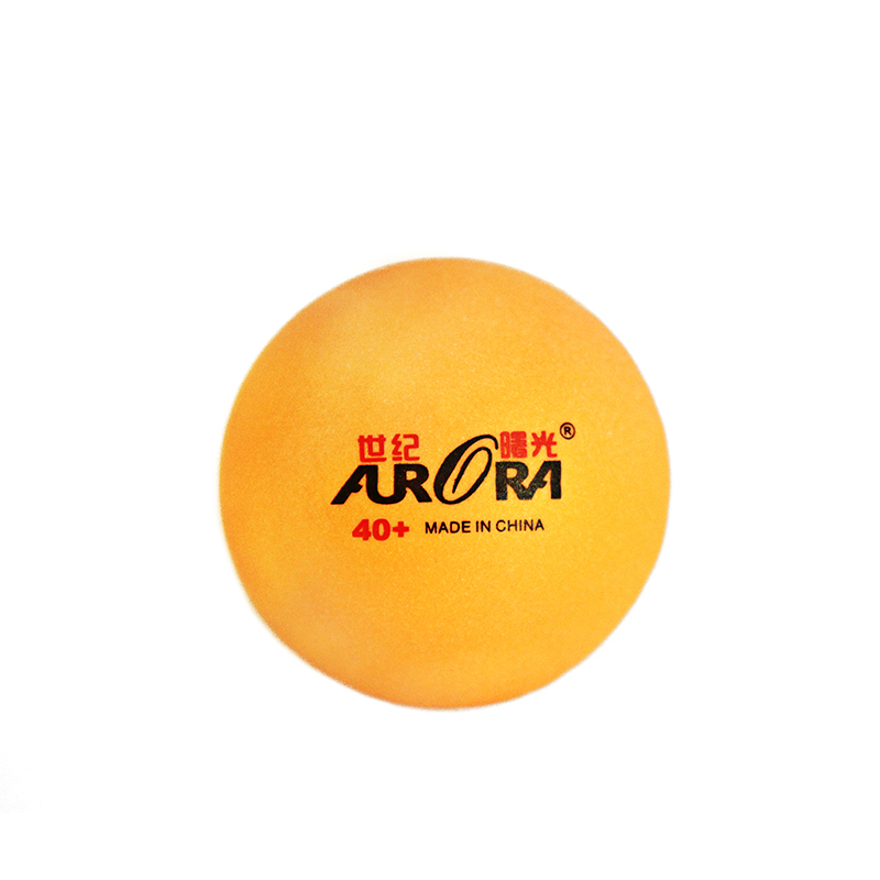Hot sales AURORA 40 mm+ cheap price table tennis  balls customized logo ping pong balls