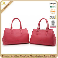 Latest Fashion Design genuine leather lady hand bag