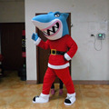 Red shark costume/animal costumes adults