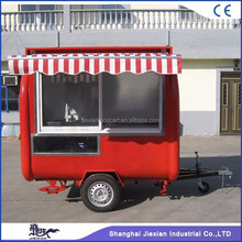 JX-FR220H Jiexian hot selling mobile street orange juice kiosk for sale with CE qualified