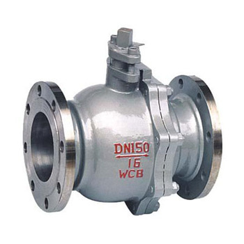 TOP Q41F Flanged Floating ball valves CS/SS