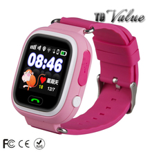 GPS GSM positioning kids watch sos tracker long battery life smart phone