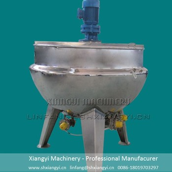 heating jacketed cooking kettles mixing tank