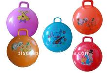 Children hopper ball with handle