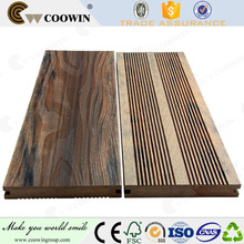 bevel edge wooden wpc vinyl flooring with good quality