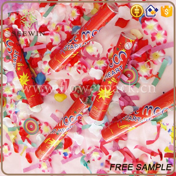 wholesale decorative jubilant christmas cracker confetti party popper