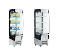 180L To 390L High Efficient Glass Door Open Commercial Refrigerator With LED Lights