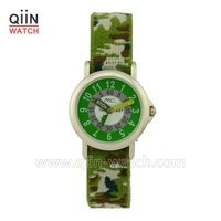 QU0211 interchangeable elastic strap watch for women
