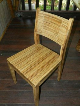 laminated bamboo chair