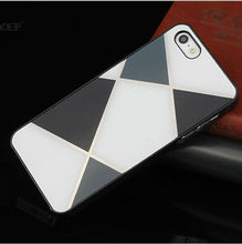 Hot selling pc hard rubberized case for iphone with customized 3d image