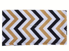 Women's Jersey Geometric Pictures Soft Chevron Sheer Infinity Scarf