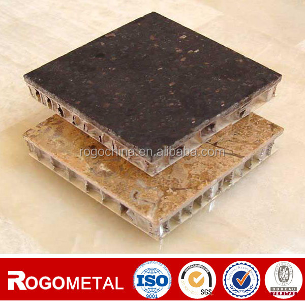 Aluminum foil pp pc the plastic honeycomb core with thickness 10/15/20mm