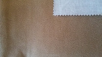 sofa fabric:suede fabrics with t/c backing