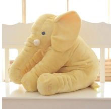 Baby Soft Elephant Sleep Plush Pillow Kids Lumbar Cushion Toys Large Size Elephant Shape Pillow baby Elephant Body Pillow Gifts