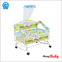baby plastic small bed , baby cribs cot