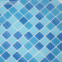 Cheap price China Blue Glass Swimming Pool Tiles A020406
