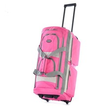 Hand wash rolling bright color travel luggage