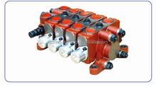 ZL20.2 double pneumatic control valve, good quality dump truck hydraulic valves with low price
