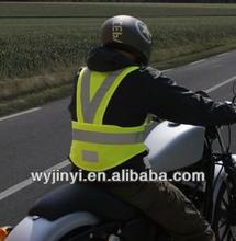 china cheap OEM reflective vest motorcycle with hi vis reflective tape