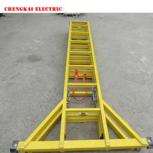 FRP GRP Fiberglass industrial extension ladder