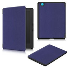"Kobo Aura H2O edition 2 6.8""Tablet Slim Tri-Folding Leather Case Smart Cover"