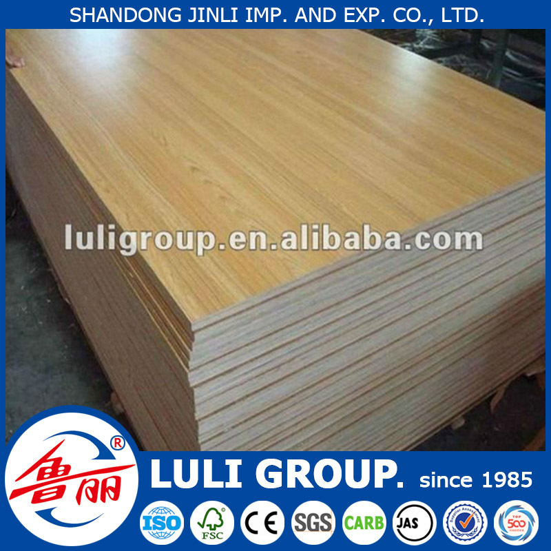 Melamine weight of particle board
