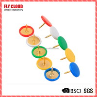 color thumb tack push pin for plastic coated
