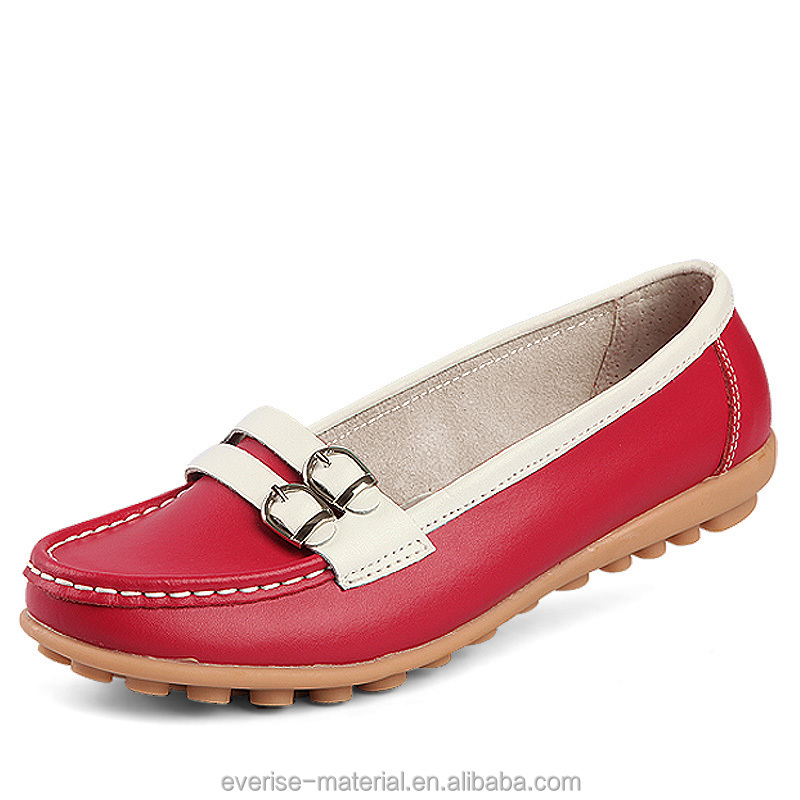 Made In China Artificial Synthetic Leather For Woman Shoes Material