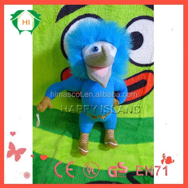 HI EN71 love birds stuffed plush bird toys,stuffed toy manufacturer