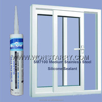 Quick Dry Medium Silicone Sealant for stainless steel