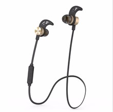 Mini wireless sport bluetooth earphone for iphone 7 metal earphone adapter with mic