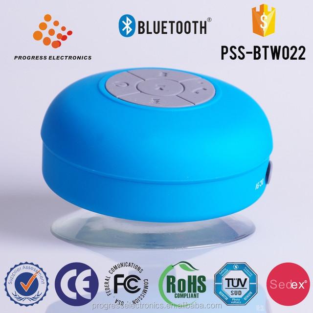 PSS-BTW022 Hot sale waterproof wireless mi bluetooth mini micro speaker,car audio speaker