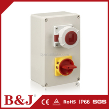 B&J China Manufacture Electrical Plastic Enclosure Distribution Box For Power Supply