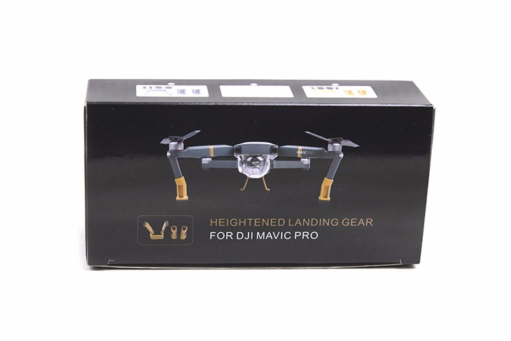 Heightened Landing Gear Lengthened Extended Support Safe Landing Bracket Protector for DJI Mavic Pro Quadcopter Drone