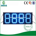 Excellent quality Hidly Outdoor Blue Led oil price display panel